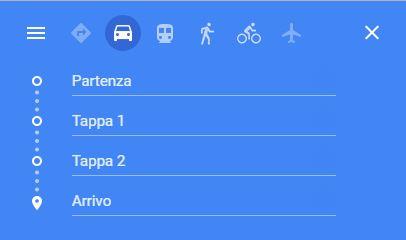Come aggiungere tappe su Google Maps