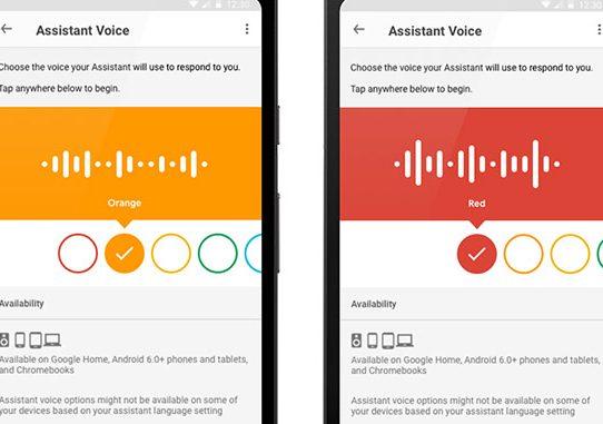 come cambiare voce all'assistente google