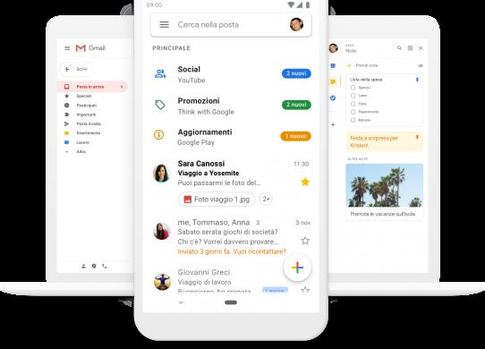 Come creare una casella di posta con Gmail