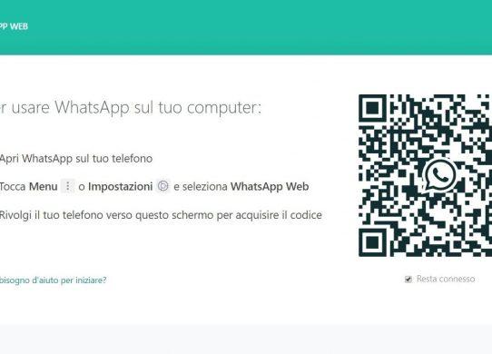 come usare whatsapp sul computer - whatsapp web